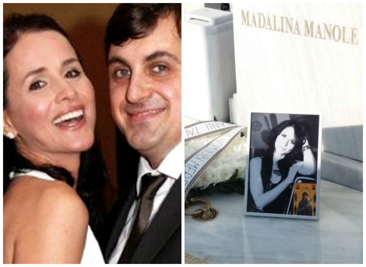 Scandal uriaș la mormântul Mădăline Manole! Gestul revoltătot făcut de soțul ei, Petru Mircea