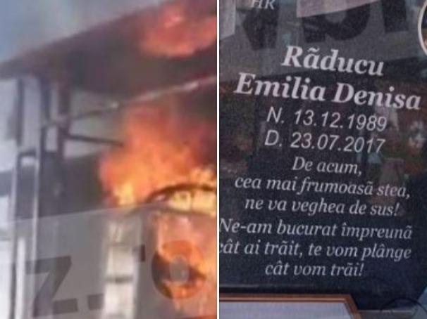 Imagini incredibile cu mormântul regretatei Denisa Manelista! După ce a ars, acum are...