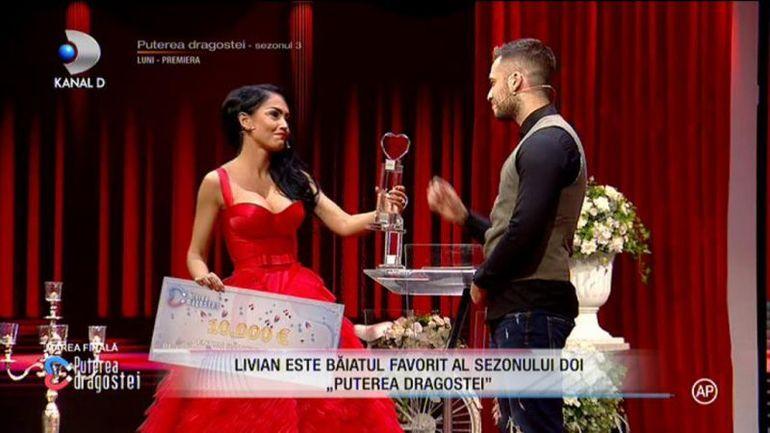 """SCANDAL URIAȘ! Livian, acuzat că și-a plătit voturile în finala Puterea Dragostei! """"Ramona a primit 1000 de euro!"""" Declarații halucinante ale adversarilor"""