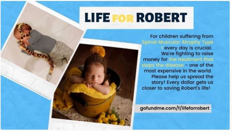 Robert, bebelușul salvat de o injecție de două milioane de dolari! Povestea impresionantă a băiețelului cu o boală gravă