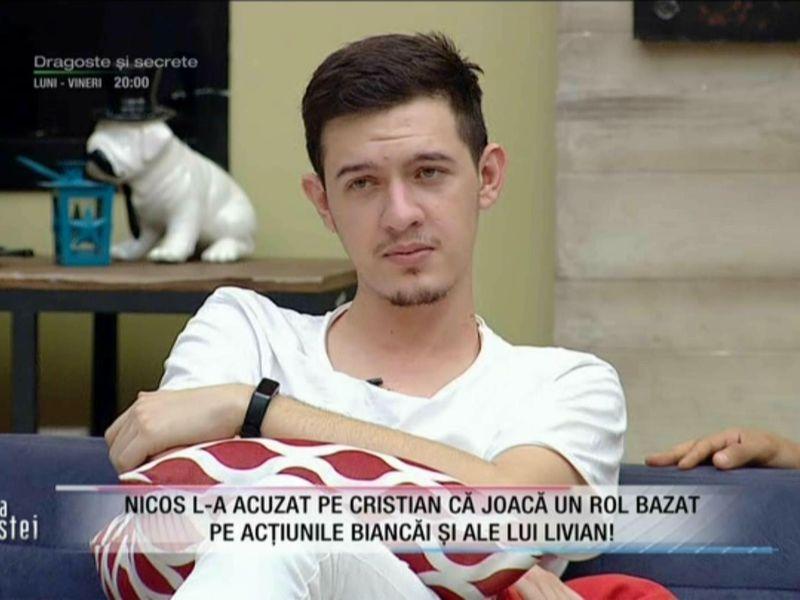 """Scandal monstru și acuzații grave- Nicos și Cristian, la apogeul luptei: """"Bea până...."""""""