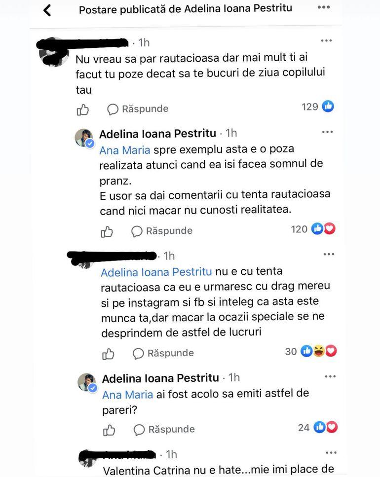 Adelina Pestrițu, criticată de fani. Cum le-a răspuns vedeta celor care au pus-o la zid în urma unei fotografii!