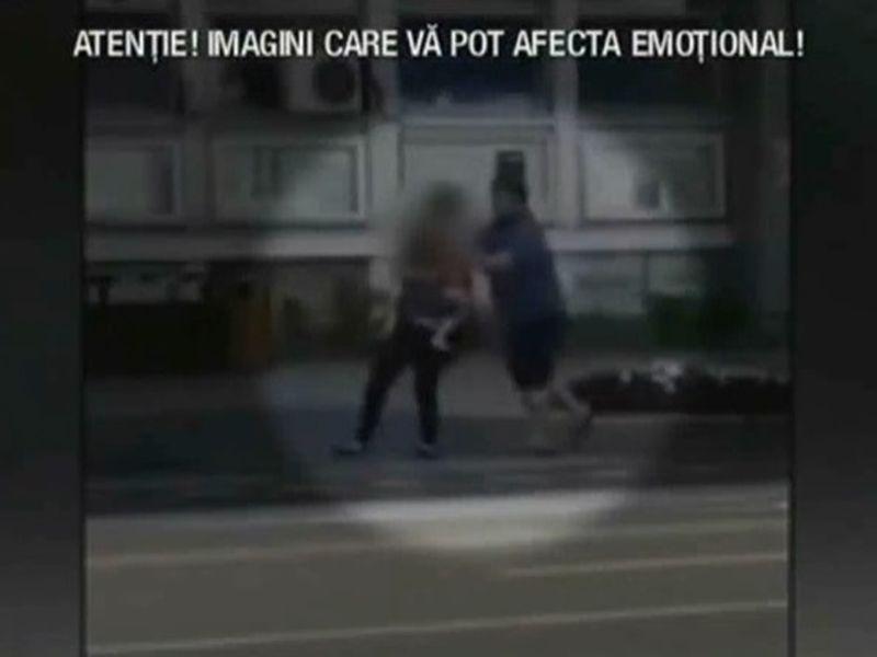 Un preot și-a agresat soția cu copilul în brațe, în plină stradă
