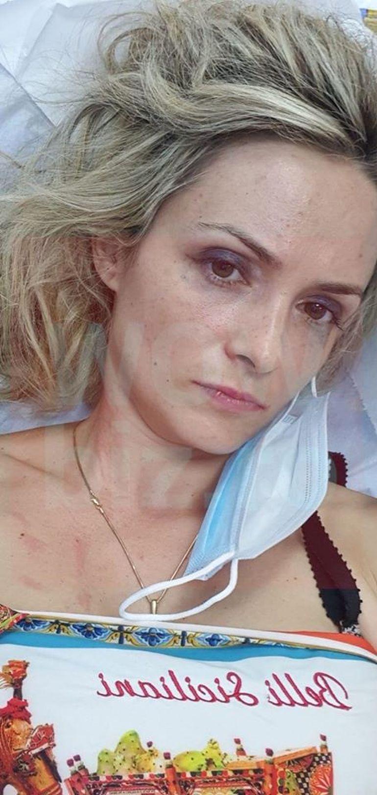 EXCLUSIV! Amalia de la Chefi la cuțite, bătută cu bestialitate de doi indivizi! Sicilianca a ajuns de urgență la spital