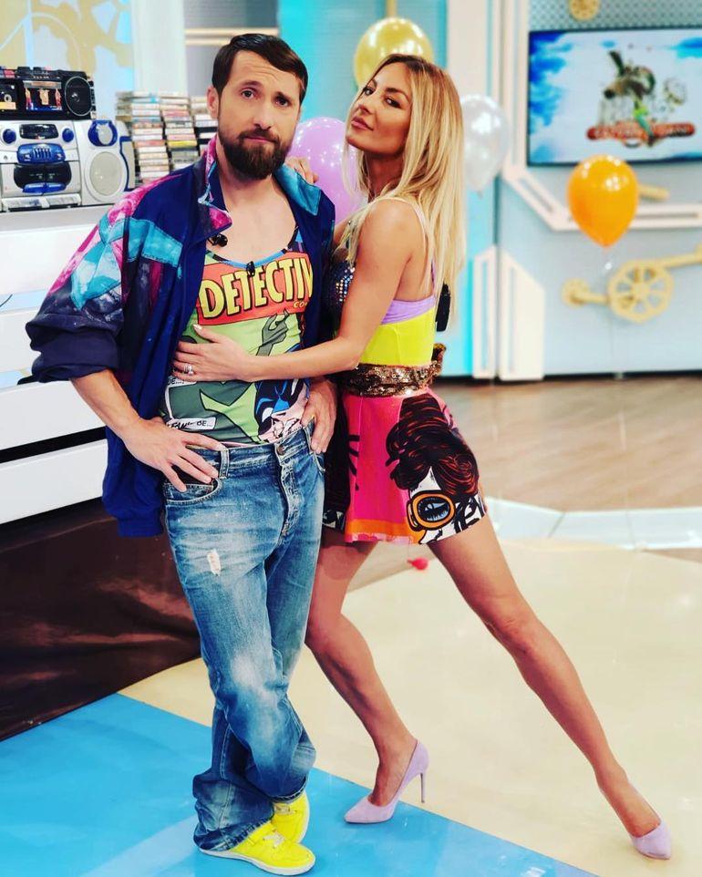 Adevărul despre relația dintre Flavia Mihășan și Dani Oțil! Ce spune mereu prezentatorul când este întrebat de fosta asistentă tv