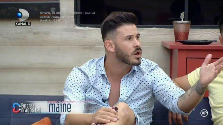 """Puterea Dragostei 14 August: Paul și Adriana, ceartă la cuțite după ce Daiana a anunțat că intră în emisiune pentru Paul: """"Tu ai făcut chestiile alea cu mine, dar o aștepți pe ea"""""""