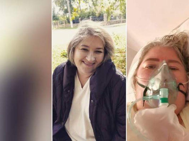 Asistentă medicală cu Covid-19, salvată în ultimul moment