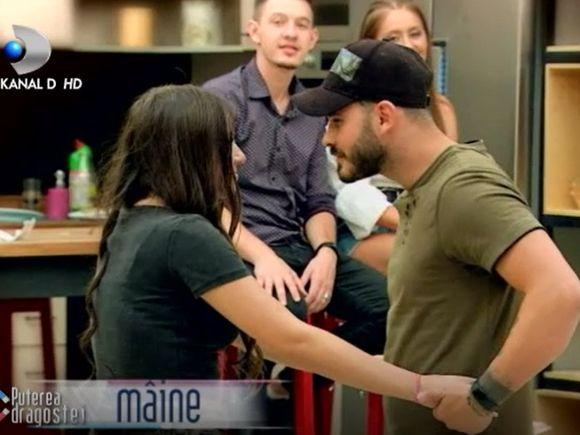 Puterea dragostei 19 septembrie. George a încercat să o sărute pe Mădălina! Mona a izbucnit în lacrimi