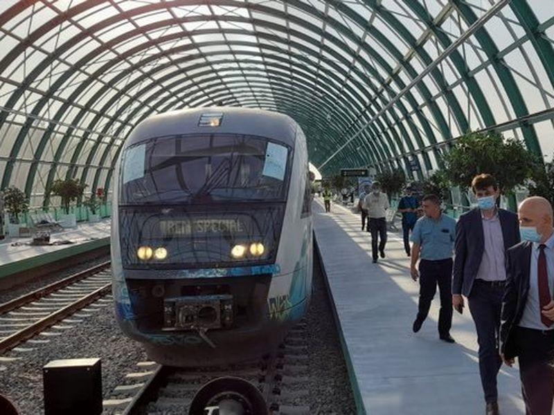 Primul tronson de cale ferată construit de la zero, după 1989