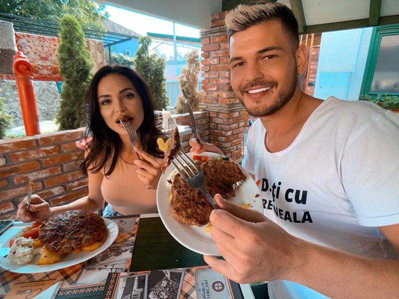 Razvan Botezatu si Claudia Stoica