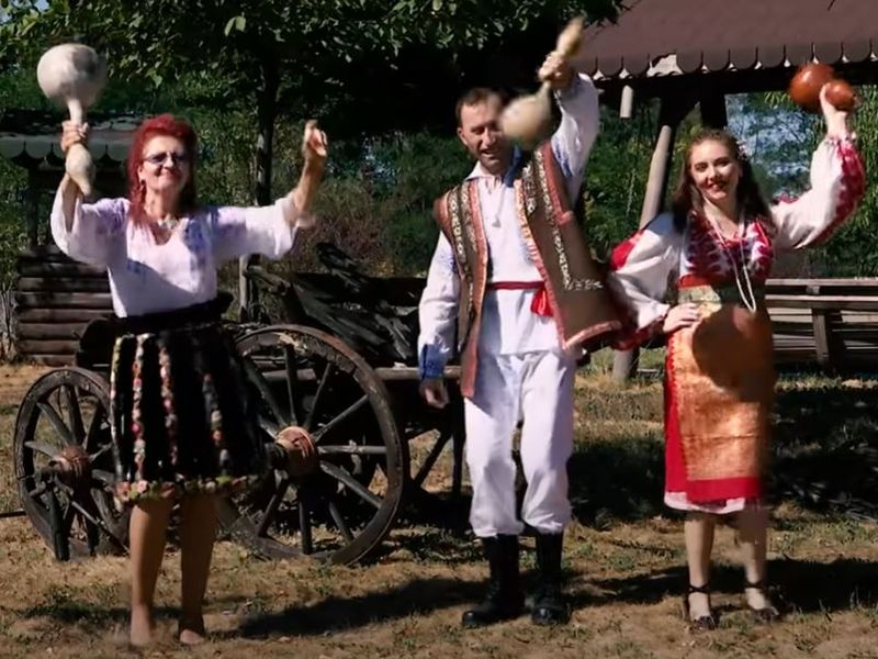 Ana Ciulpan, Viorel Stegaru si Vulpita