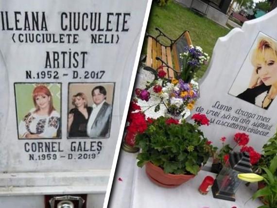Cine pune flori la mormântul Ilenei Ciuculete după moartea lui Cornel Galeș