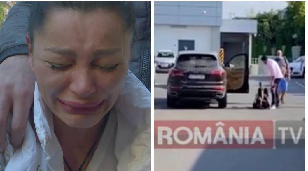 Brigitte, BĂTUTĂ de Florin Pastram într-o parcare ! Totul a fost filmat