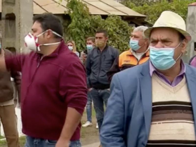 Proteste în Ivești, unde carantina a fost prelungită cu 14 zile