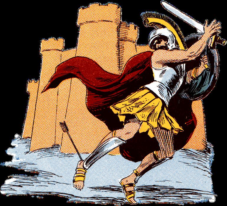 Care este, de fapt, legenda călcâiului lui Ahile
