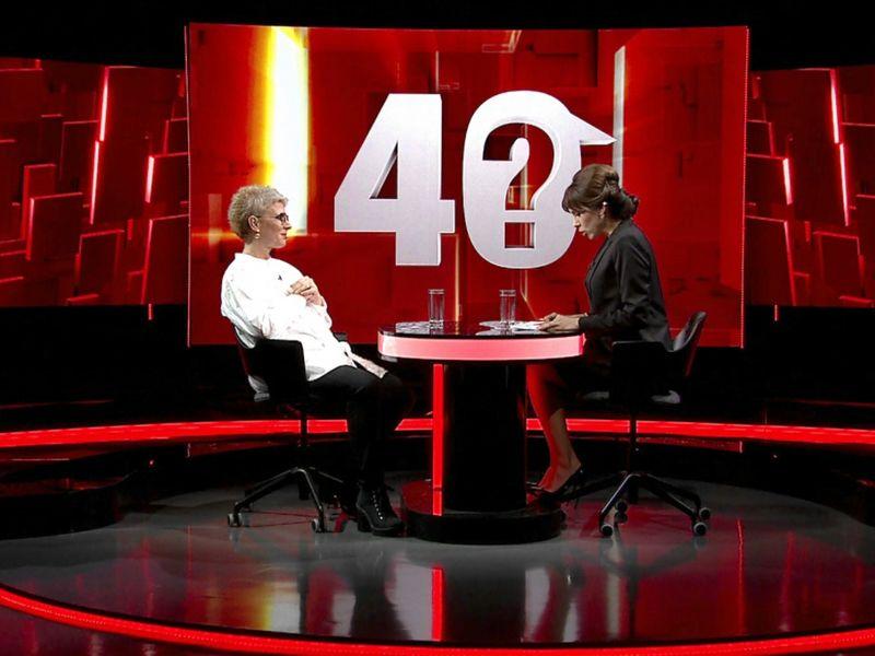 """Teo Trandafir, la """"40 de întrebări cu Denise Rifai"""""""
