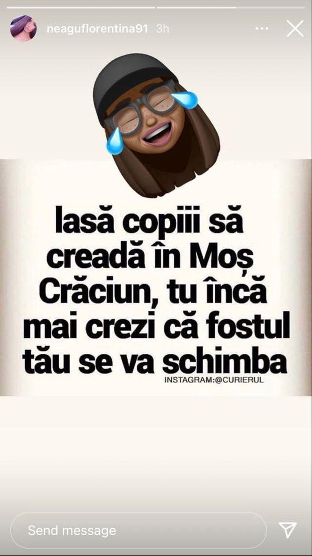 """Florentina, iubita lui Livian, atac dur la adresa Biancăi Comănici: """"Tu încă crezi că fostul tău se va schimba..."""""""