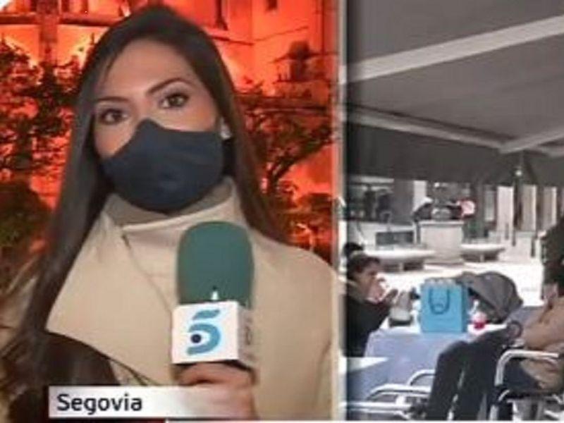 O jurnalistă s-a panicat și a oprit transmisiunea în direct