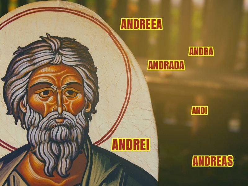 Nume care se sărbătoresc Sf Andrei