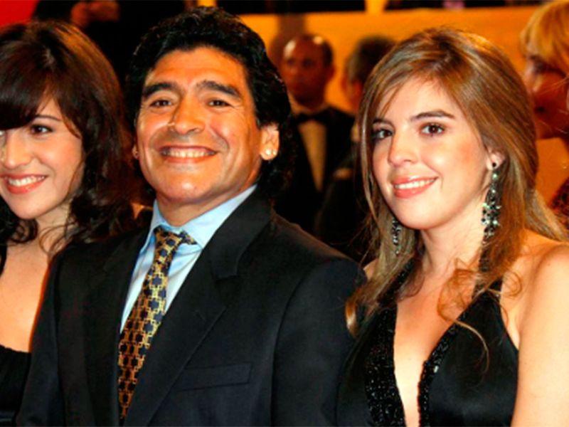 Fiica lui Maradona a izbucnit în lacrimi pe stadion