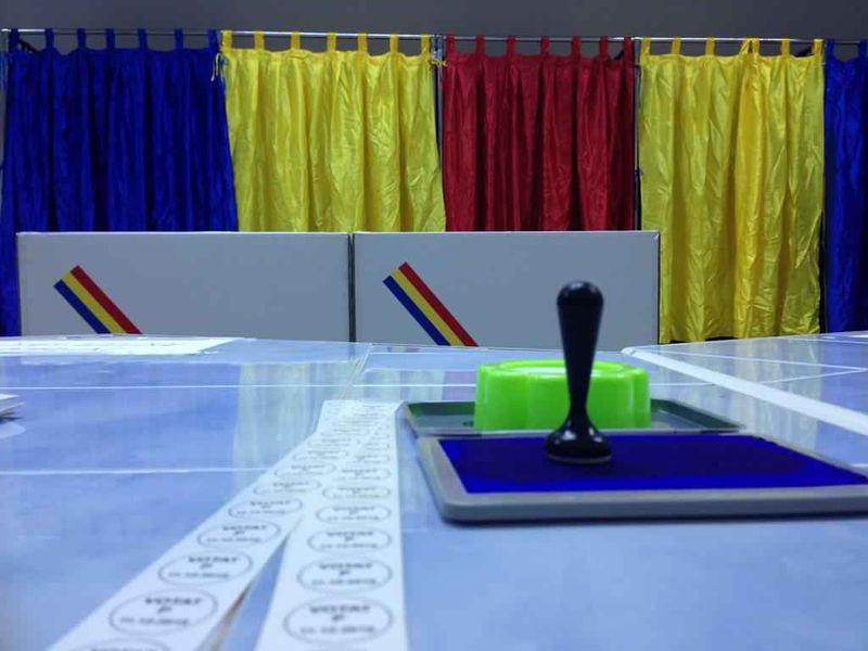 Harta completă a secțiilor de votare din București