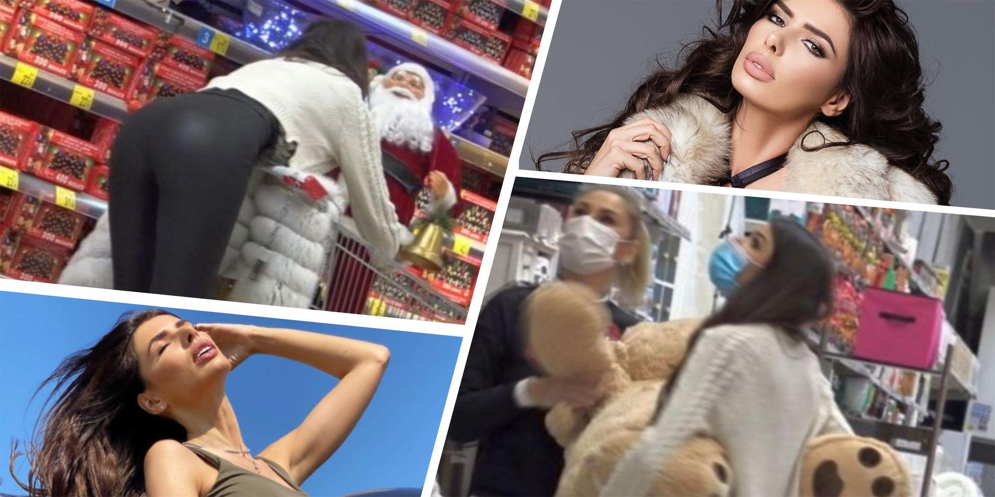 VIDEO | Filimon, nu sta așa, că-ți dă Moșu' nuiaua! Fosta Miss România a fost surprinsă de PAPARAZZI în ipostaze fierbinți, la cumpărături de cadouri