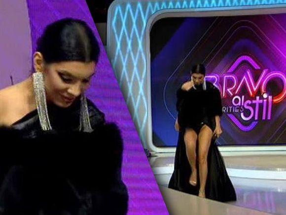 """Andreea Tonciu, momente tensionate la """"Bravo, ai stil! Celebrities""""! A părăsit emisiunea: """"Îmi este foarte rău! Nu mai pot să stau în picioare"""""""