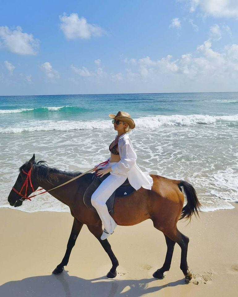Lidia Buble, vacanță romantică în Zanzibar cu un bărbat celebru! Detaliul care a dat-o de gol