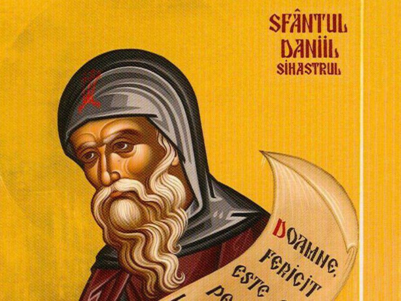 Calendar ortodox 18 decembrie. Sf Daniil Sihastrul