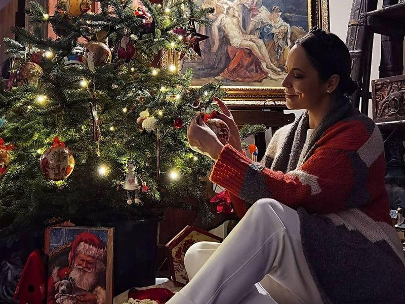 Andreea Marin și-a decorat casa pentru sărbătorile de iarnă