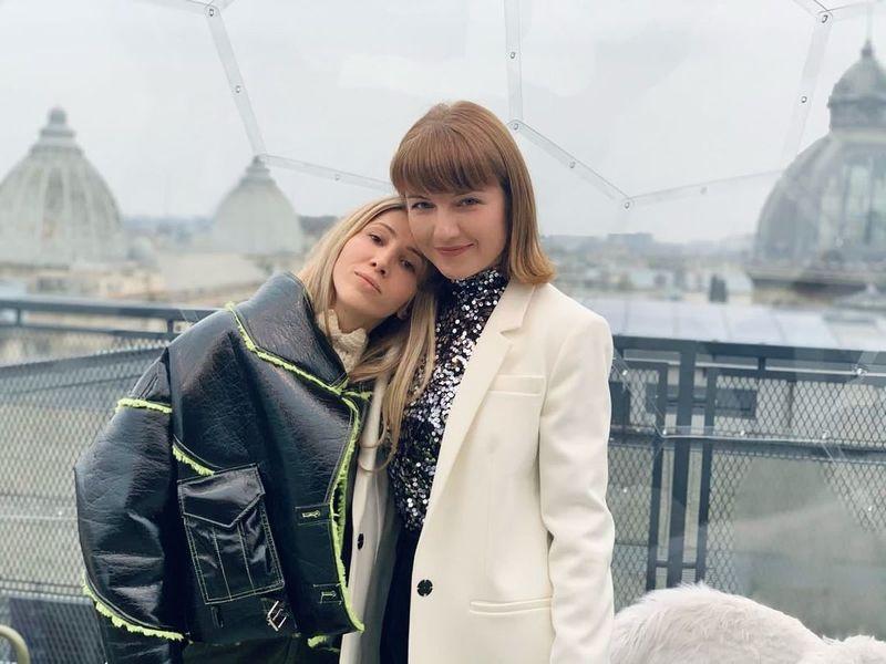 Alexandra Ungureanu și Silvia