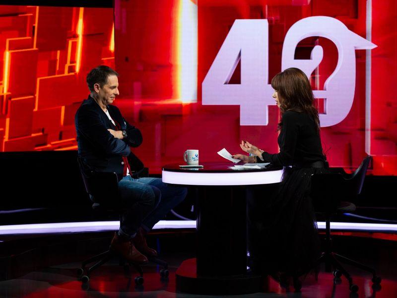 """Dan Negru, invitat la """"40 de întrebări cu Denise Rifai"""""""
