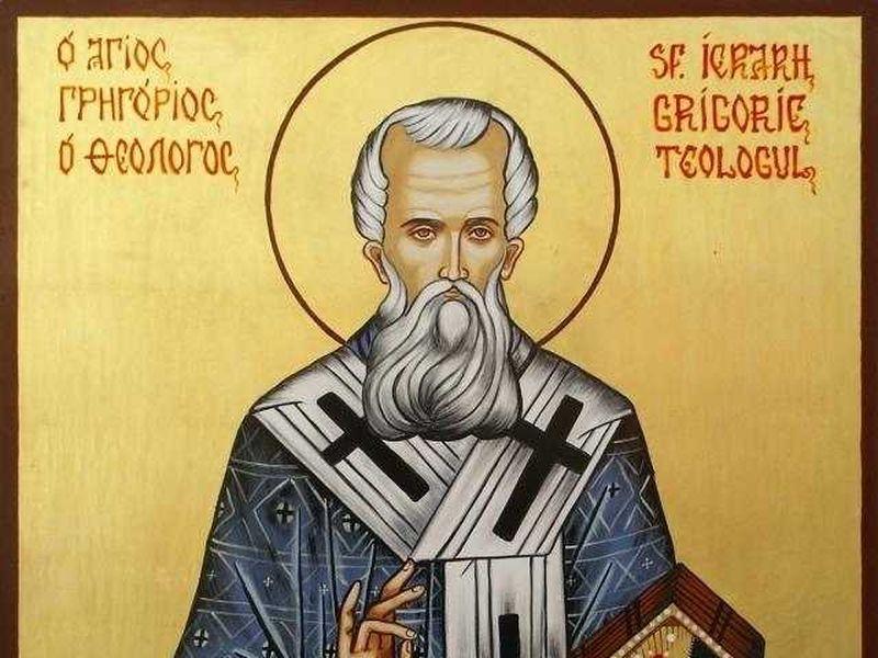 Rugăciune către Sfântul Ierarh Grigorie Teologul