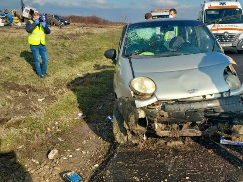 Accident in Vrancea