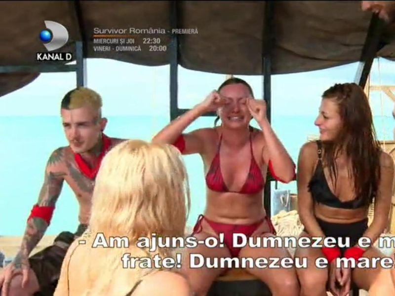 Alexandra Stan, lacrimi de fericire la Survivor România 2021