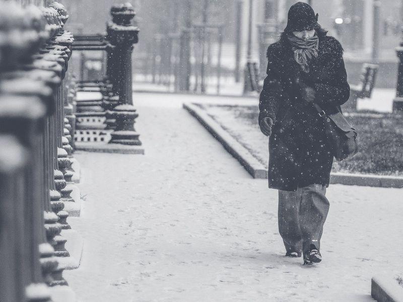Zăpadă de 15-20 cm în București