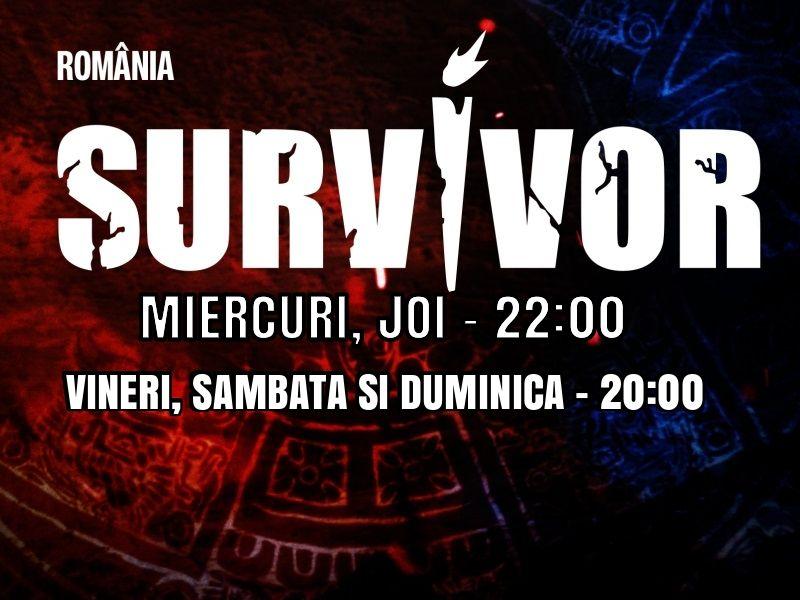Ora la care începe Survivor România 2021, după ce s-a modificat