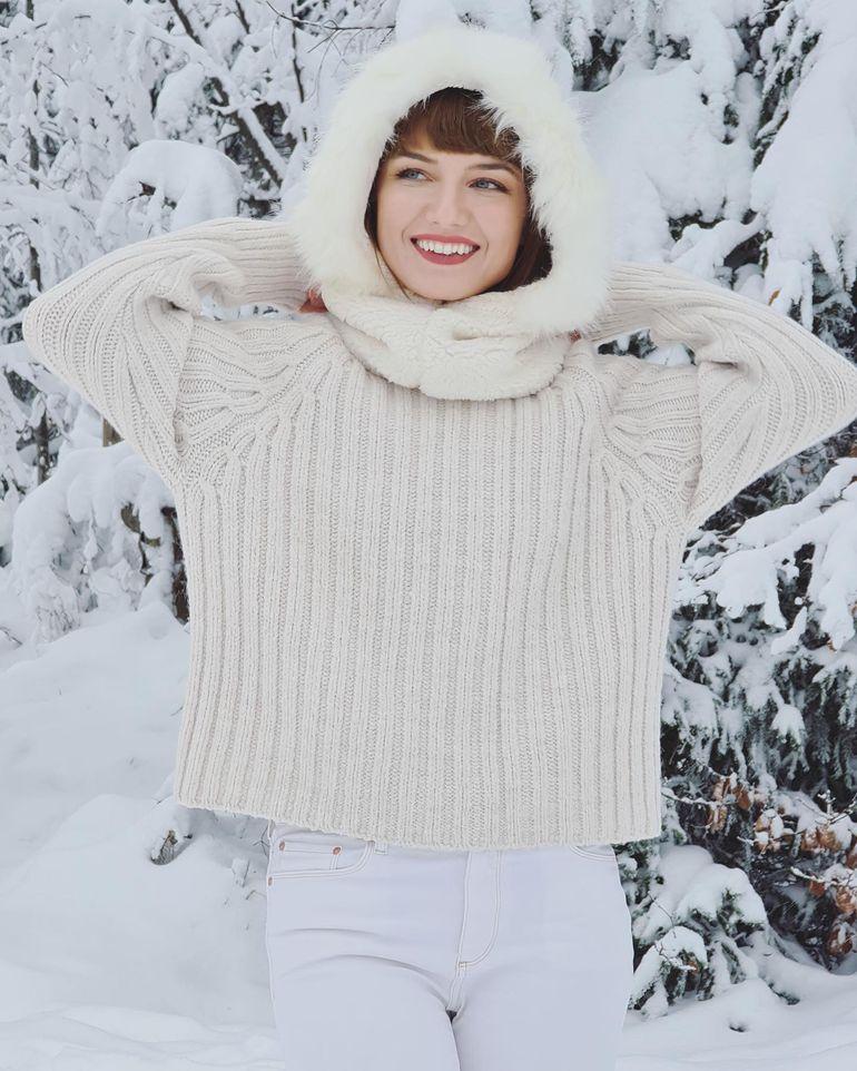 """Alexandra Ungureanu, refugiu în munți! Câștigătoarea """"Bravo, ai Stil! Celebrities"""", dezvăluiri exclusive din concediu"""