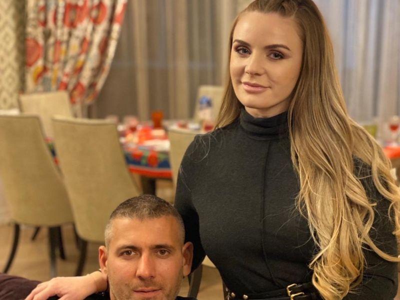 Marcela Fota și soțul ei