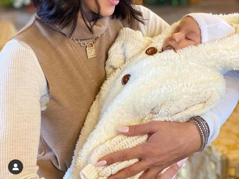 Sora Ilincăi Vandici și-a încreștinat bebelușul