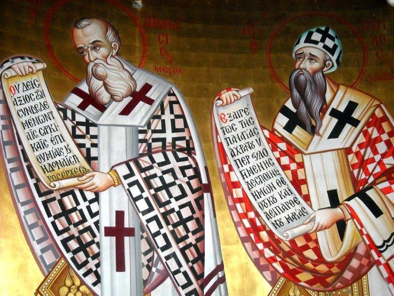 Sfinții Atanasie și Chiril al Alexandriei