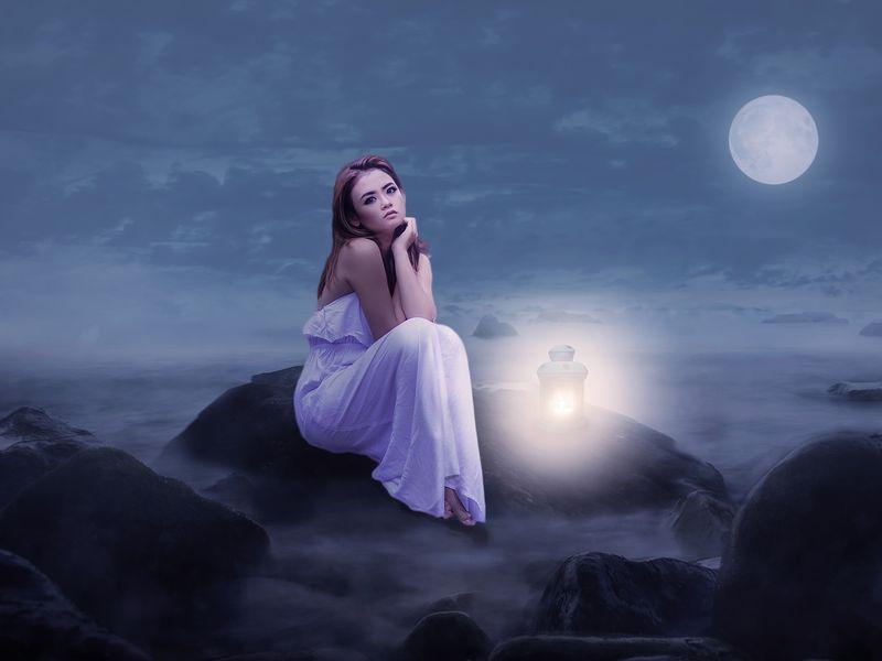 Luna plina 28 ianuarie 2021