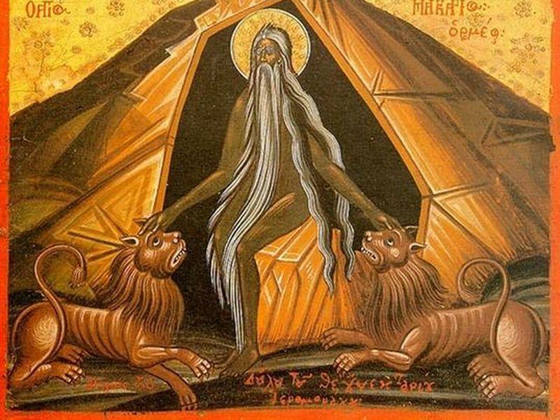 Calendar Creștin Ortodox, 19 ianuarie 2021. Sfântul Cuvios Macarie cel Mare