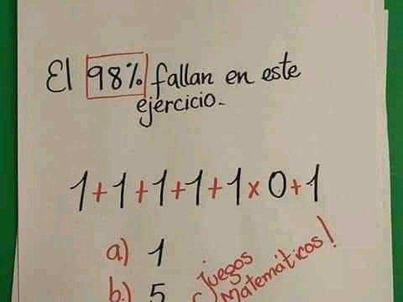 Problema de matematică care te va pune în dificultate