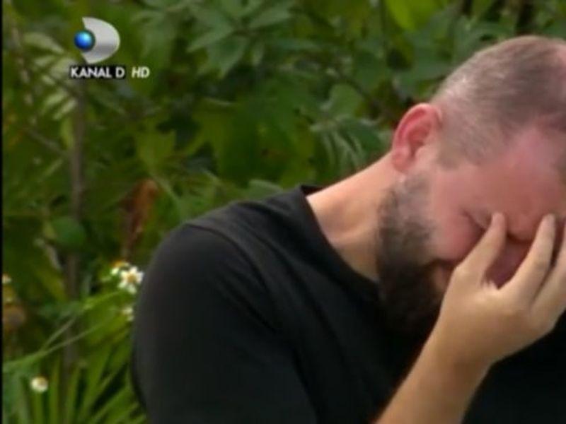 Alin de la Războinici, în lacrimi! Ce l-a făcut pe concurent să izbucnească în plâns