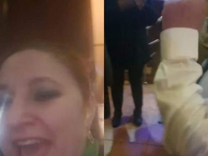 Diana Șoșoacă, petrecere cu lăutari fără restricții! Senatoarea AUR a transmis totul live pe Facebook
