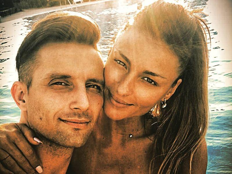 Elena Marin si logodnicul Andrei