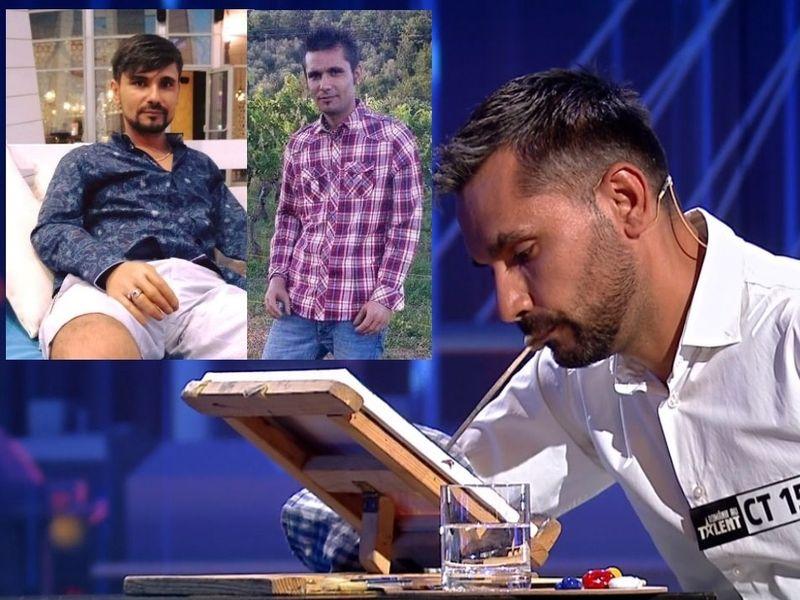 Cornel Marin, pictorul fără mâini, de la Românii au Talent sezonul 11