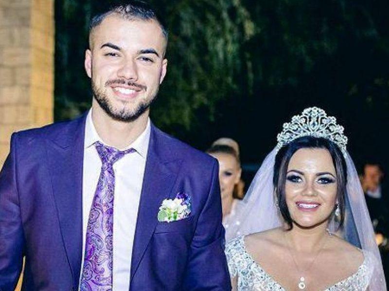Carmen de la Sălciua și Culiță Sterp, la nunta lor