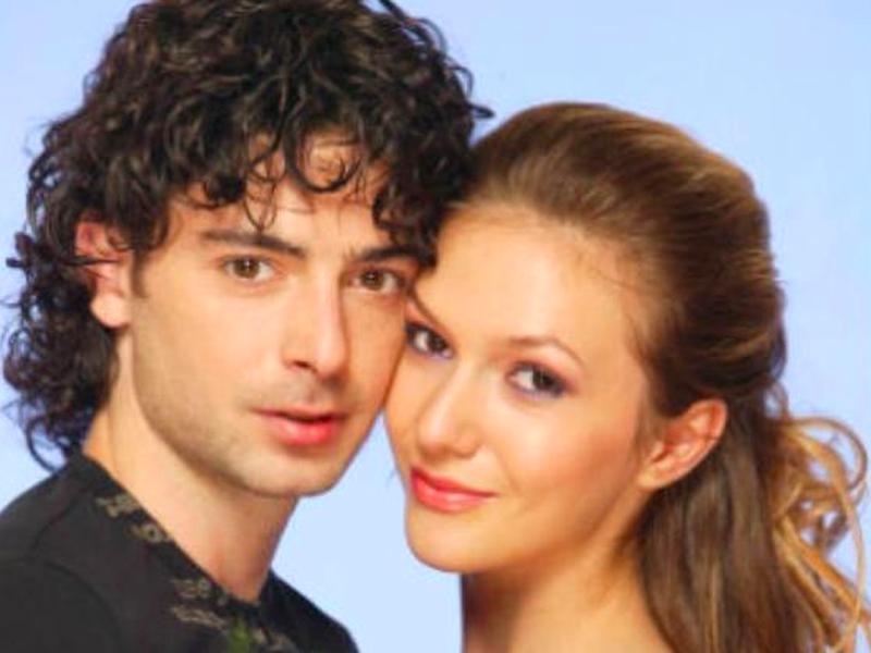 Adela Popescu și Dan Bordeianu, pe vremea când formau un cuplu